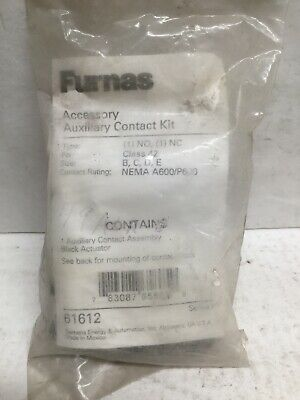 Siemens Furnas 61612 49ACR6 Accessory Auxiliary Contact Kit
