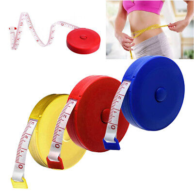 150cm Retractable Tape Measure Sewing Dieting Tapeline Ruler Tiny Tool Set