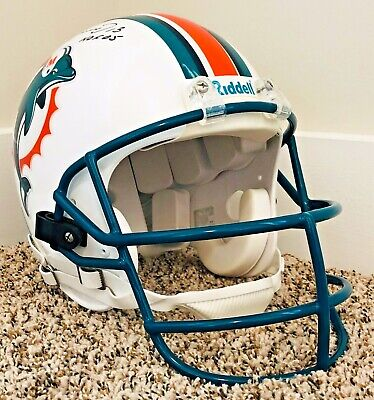 DAN MARINO 1999 Game Issued Style Autographed AUTHENTIC Dolphins HELMET NFL  HOF fceb03e8d