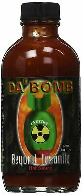 Da' Bomb Beyond Insanity - Hot Spicy Natural Chilli Sauce  *Brand New***