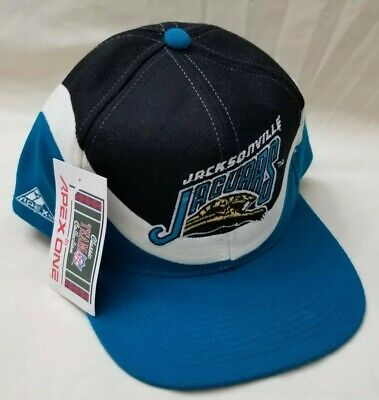 Vintage APEX ONE Jacksonville Jaguars NFL Snapback Trucker Hat Cap new with  tag b2aab6c52996
