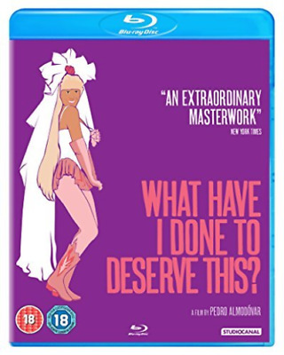 What Have I Done To Deserve This Bd BLU-RAY NEW