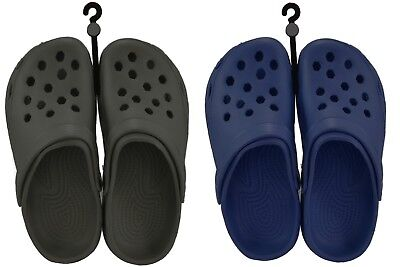 Mens Ladies Adult Clog Style Beach Shoes Brand New