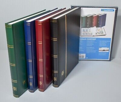 Deluxe Lighthouse Quality Stock Book - Padded cover 32 White Pages A4 - SAVE 20%
