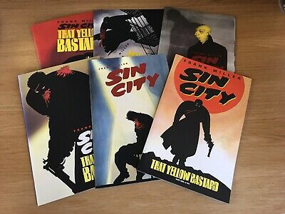 Sin City That Yellow Bastard 1 - 6 Frank Miller NM