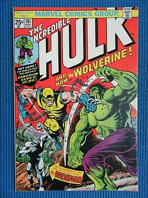 Incredible Hulk # 181 - (Vf) -1St Full Appearance Of The Wolverine-White Pages