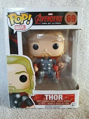 Funko Pop Vinyl Bobble-Head Marvel Avengers Age Of Ultron Thor #69