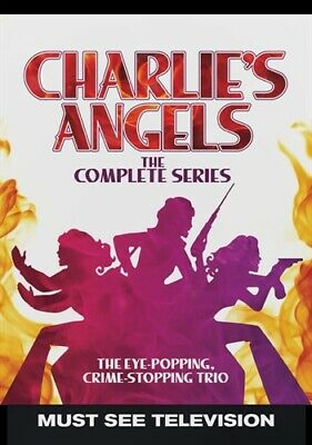 CHARLIE'S ANGELS THE COMPLETE SERIES New 20 DVD Set Seasons 1 2 3 4 5