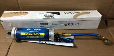 Lightly Used - Nu-Calgon 4057-99 AC Renew Air Conditioner Injector Tool