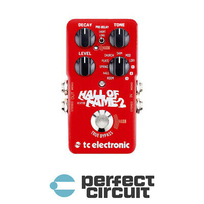 TC Electronic Hall of Fame 2 Reverb EFFECTS - NEW - PERFECT CIRCUIT