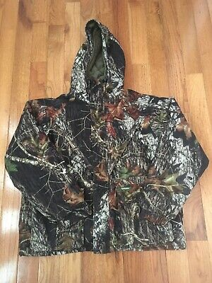 f893116eb76f1 REMINGTON CAMO JACKET Real Tree Hunting Coat Hooded Insulated Mens ...