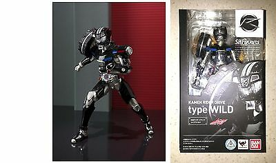 Anime & Manga Action Figures Useful Bandai Tamashii Nations S.h Figuarts Kamen Rider Drive Type Wild