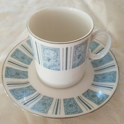 Vintage tea coffee cup and saucer