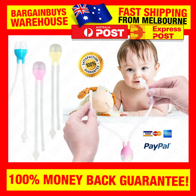 Nasal Aspirator Baby Nose Cleaner Snot Nose Wash Mucus Sinus Rinse Sucker Vacuum