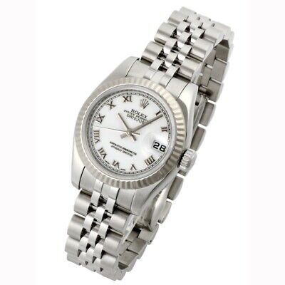 5e4a8e5a0ab ROLEX DATEJUST LADIES 179174 Stainless Steel Watch. - $4,950.00 ...