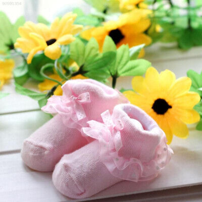 9068 Cute GBD Baby Bow Socks Baby Lace Sock Newborns Footwear Gift Toddlers