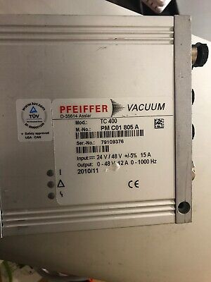 PFEIFFER Vacuum TC 400 Turbo Pump Controller PMC01805A