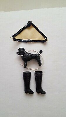 Vintage Topper Dawn doll small lot of accessories for Singin' in the Rain