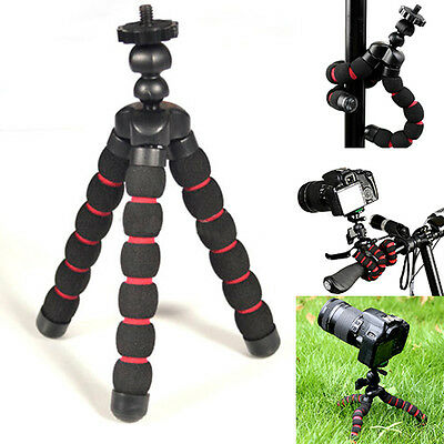 Universal Flexible Tripods Stand Mount Holder GoPro Hero 2 3 &3+ 4 Camera Set