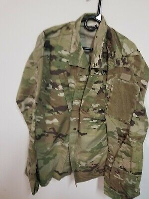 ARMY OCP SCORPION W2 MULTICAM  top jacket COMBAT large long used