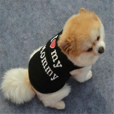 Pet Puppy Small Medium Dog Cat Pet Clothes Dress Vest T Shirt Apparel Clothes