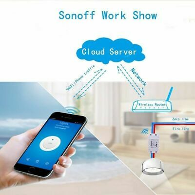 Sonoff Basic Smart Home WiFi Wireless Switch Module For IOS Android APP Control
