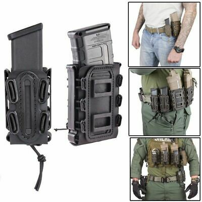 Tactical 9mm Molle Pistol Mag Pouch Military Magazine Holster Fastmag Quick Pull