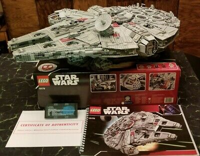 #10179 ULTIMATE COLLECTOR/'S MILLENIUM FALCON RARE INSTRUCTIONS ONLY LEGO MANUAL
