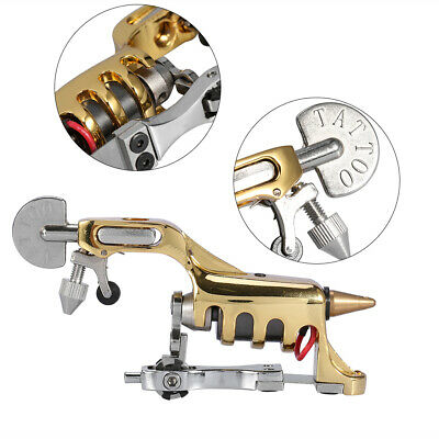 Rotary Tattoo Gun Machine Permanent Makeup Tool For Shader & Liner & Color W