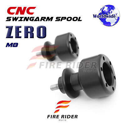 ZERO Black Rear 8mm Swing Arm Spools Bobbins For BMW S1000R Nake 14-16 14 15 16