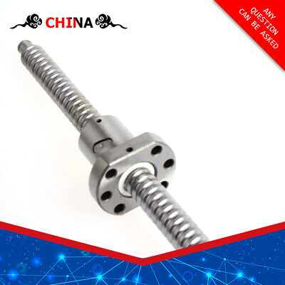 250-550MM Ball Screw SFU1204 SFU1605/2005/2505 End Support & Ballnut Housing CNC