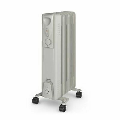 2ae5e3f839d DAEWOO WHITE 1500W Watt Oil Filled Radiator Heater with Thermostat ...