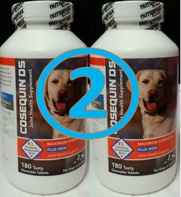 Cosequin DS Plus MSM Joint Health Supplement for Dogs - 360 Chewable Tablets