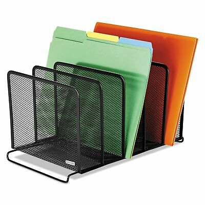 62555 Nestable Mesh Stacking Side Load Letter Tray Wire Office Desk Trays