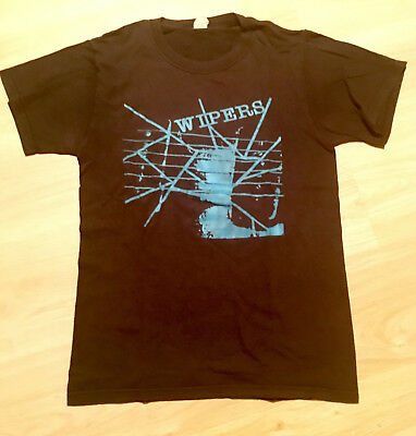 WIPERS - Over The Edge T Shirt - S - Greg Sage Punk / Post-Punk