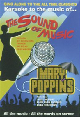 Sound of Music/Mary Poppins Karaoke DVD NEW