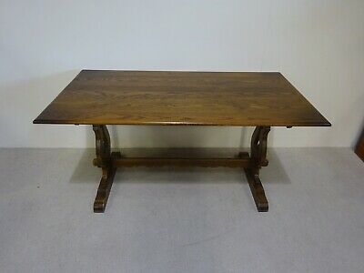 Old Charm Solid Oak Refectory Table