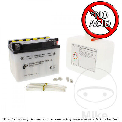 Battery YB4L-B 6-ON For AGM GMX 450 25 BS 4T Sport Eco 2011-2013