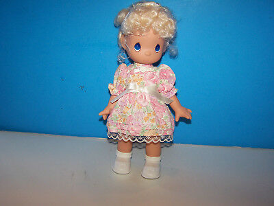 1992 Precious Moments 10 inch Vinyl Doll in Complete Original Outfit
