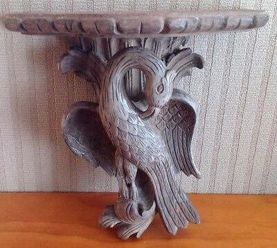 18th Century Italian Wooden Carved  Wall Shelf