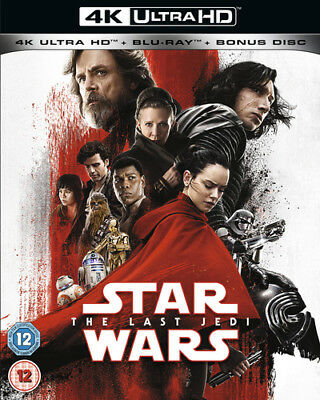 Star Wars: The Last Jedi DVD (2018) Carrie Fisher, Johnson (DIR) cert 12 3