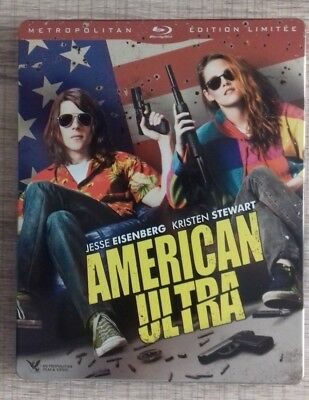 Blu Ray American Ultra EDITION STEELBOOK COLLECTOR fr
