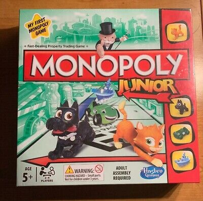 Monopoly Junior Board Game - New