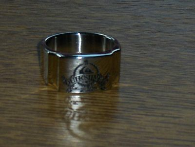 QUIKSILVER ROXY BAGUE  RING SQUARE ACIER INOXYDABLE TAILLE 57 JWR018