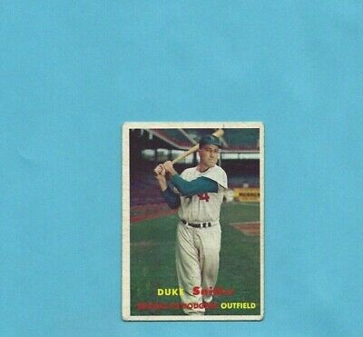 1957 Topps #170 Duke Snider Brooklyn Dodgers Baseball Card