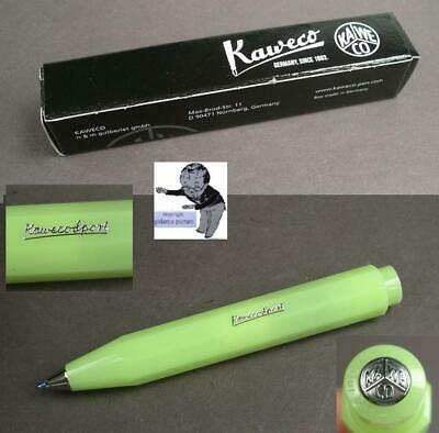 Kaweco Frosted Sport Kugelschreiber in Fine Lime neu #