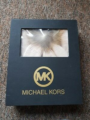 Authentic Michael Kors Hat And Scarf Set