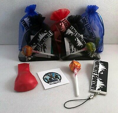 Boys filled organza party/gift/loot bags.Fantastic value for money!!