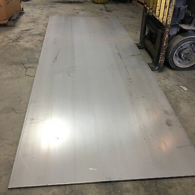 """1//16/"""" x 8/"""" x 11/"""" Stainless Steel Plate .0625/"""" 304 SS 16 gauge"""
