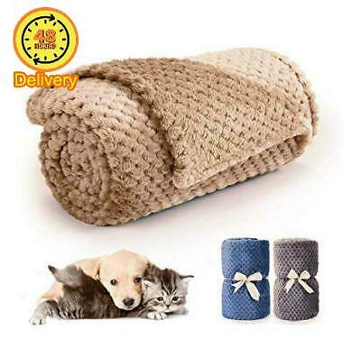 Double Ss Pet Dog Blanket Fleece Fabric Soft and Warm Pet Throw for Couch,urni